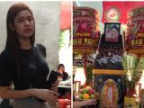 Trương Quỳnh Anh lặng lẽ đi viếng MC Quang Minh