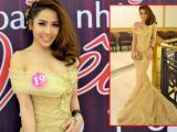 Linh Jollie quyến rũ trong trang phục dạ hội
