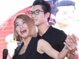 Trương Nam Thành ôm chặt Hải Băng sau khi làm lành với bạn gái