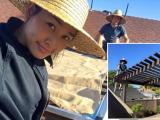 Bằng Kiều cùng Dương Mỹ Linh tất bật sửa sang nhà ở Mỹ