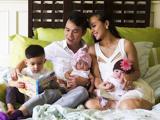 Lộ diện chồng và 3 con của MC Huyền Ny