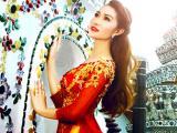 Xuân Nguyễn đưa áo dài Việt mê hoặc ánh nhìn trên đất Thái Lan