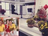 Ngọc Trinh đón Tết cùng bố và mẹ kế trong căn nhà triệu đô