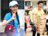 Angela Baby đi làm từ thiện với bạn trai Phạm Băng Băng