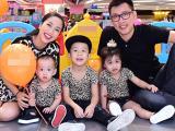 Vợ chồng Ốc Thanh Vân đưa 3 con đi chơi, xóa nghi án lục đục