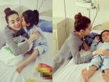 Hồ Ngọc Hà đáp trả khi bị chê giả tạo vì đến thăm em bé mổ tim