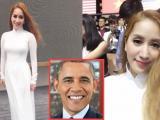 Khánh Thi suýt khóc vì được Tổng thống Mỹ hỏi thăm sức khỏe