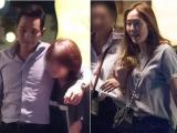 Jessica vui vẻ hẹn hò với bạn trai đại gia trong đêm