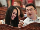 Hoa hậu Hương Giang sinh con trai cho chồng đại gia