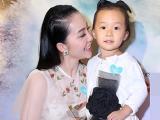Linh Nga hiếm hoi khoe con gái 3 tuổi ở sự kiện