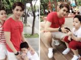 Gia đình Tim và Trương Quỳnh Anh cùng nhau quay quảng cáo