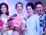 Vũ Thúy Nga đăng quang Hoa hậu Doanh nhân thành đạt người Việt thế giới