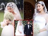 Sao nữ 'Chân Hoàn truyện' khệ nệ bụng bầu 5 tháng trong đám cưới