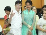 Long Nhật đi làm từ thiện cùng 'Cô dâu 8 tuổi' Avika Gor