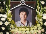 Nghẹn ngào đám tang của diễn viên Kim Sung Min - con trai phó chủ tịch LG