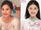 Vợ Duy Nhân sững sờ khi thấy thí sinh 'hot' nhất Hoa hậu VN 2016 giống mình