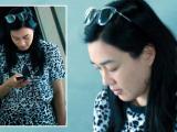 Sao nữ gốc Việt lộ mặt mộc phờ phạc và thân hình mũm mĩm ở sân bay