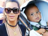 Cận cảnh khuôn mặt đáng yêu của con trai Kim Kardashian
