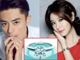 Hé lộ nhẫn cưới kim cương 'khủng' của Lâm Tâm Như