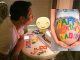 Phan Như Thảo dùng cách đặc biệt để chúc mừng sinh nhật chồng