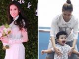 Tin sao Việt mới ngày 29/7: Hoa hậu Thu Vũ được tặng nhẫn đính hôn tiền tỉ, Khánh Thi dạy con tập múa