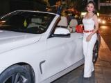 Janny Thủy Trần lái siêu xe dự sự kiện