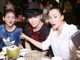 Nathan Lee và Hồ Quỳnh Hương xì tin hiếm thấy khi đi ăn tối