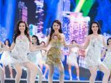 Trực tiếp chung kết Hoa hậu Việt Nam 2016: Các thí sinh bước vào phần thi áo dài