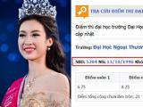Xôn xao điểm thi đại học đáng nể của Tân Hoa hậu Việt Nam