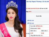 Hoa hậu Đỗ Mỹ Linh vẫn đỗ đại học dù được 21 điểm trong khi điểm chuẩn là 22?