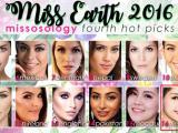 Nam Em lọt top 20 Hoa hậu Trái đất 2016 do Missosology bình chọn