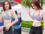 Hoa hậu Mai Phương Thuý tự tin khoe chân dài eo thon đẹp ngất ngây