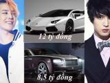Bóc giá xế 'khủng' bạc tỷ của dàn sao thần tượng xứ Hàn