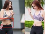 Lộ ảnh chưa photoshop 'tố cáo' vòng eo thật ngấn mỡ của Mai Phương Thúy