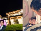 Tin sao Việt mới 25/10: Biệt thự sang trọng mới xây của Đan Trường, Phương Vy idol khoe cho con bú trên máy bay