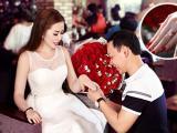 Nguyễn Thị Ánh Ngọc hạnh phúc ngập tràn khi được chồng tặng nhẫn kim cương hàng tỷ đồng