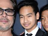 Pax Thiên và Maddox đùng đùng bỏ về trong buổi gặp Brad Pitt