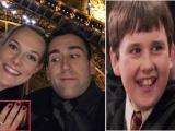 Sao 'Harry Potter' bất ngờ đính hôn với bạn gái đã có một đời chồng