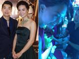 Trương Nam Thành quỳ gối cầu hôn bạn gái siêu mẫu trước đám đông