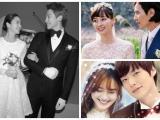 Những cặp đôi sao quyền lực nhất xứ Hàn lại tổ chức đám cưới giản dị tới khó tin