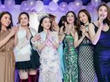 Hoa hậu Hạ My mở tiệc cảm ơn, dàn sao Việt hội tụ chúc mừng