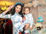 Maya tổ chức sinh nhật 2 tuổi hoành tráng cho con gái