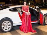Hoa hậu Hạ My lái siêu xe dự sự kiện, cùng hội ngộ dàn hoa hậu Việt Nam