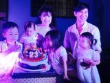 Sự nhầm lẫn thú vị trong ngày sinh nhật vợ Lý Hải