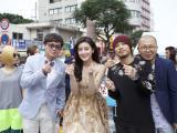 Á hậu Huyền My gây 'bão' tại Liên hoan phim Okinawa Nhật Bản