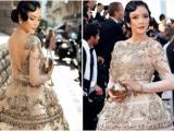 Thiết kế Việt tiếp tục giúp Lý Nhã Kỳ tỏa sáng trên thảm đỏ LHP Cannes ngày 6