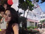 Trước khi qua Mỹ sinh con, Vy Oanh tổ chức sinh nhật cho chồng ở biệt thự siêu sang