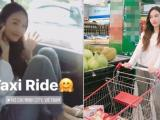 Jessica hoãn tập bắt taxi đi mua sắm ở siêu thị Việt Nam