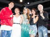 Loạt sao Việt quậy tưng bừng trong tiệc sinh nhật của Minh Hằng