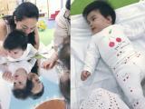 3 tháng 19 ngày tuổi, con gái út Phạm Quỳnh Anh đã đến lớp